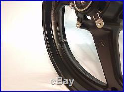 NEW GLOSS BLACK Front Wheel CBR 600RR 2007-2015 CBR600RR 600RR CBR600 RR 600 Rim