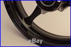 NEW GLOSS BLACK Front Wheel GSXR 600 750 2006-2007 GSXR 1000 2005-2008 Rim GSX-R