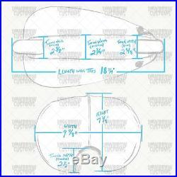 Narrow Ribbed Mustang Gas Tank chopper bobber Harley Shovelhead Softail xs650