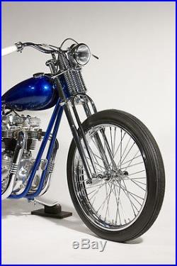 Narrow harley chopper bobber custom springer front end forks vtwin 650 triumph