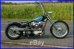 New 24 DNA 2 Over Stock Chrome Springer Front End with Axle Kit Harley & Custom