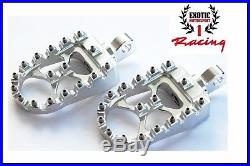 New Harley Davidson Dyna Sportster Wide Foot Pegs MX Style Bobber