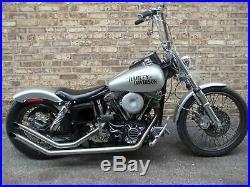 New Lepera Le Pera Bare Bones Smooth Solo Seat Harley Shovelhead Panhead FX & FL