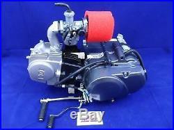 New Lifan 125cc Big Valve 4 Speed Semi Auto Pit Bike Engine Carb & BBR Manifold