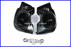 Non Vented Fairing Lower With 6x9 Speaker Pod For HD Harley Touring FLH 1988-2013