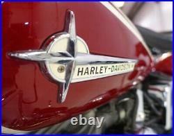 OEM Gas Tank EMBLEMS with SCREWS for 1961 1962 Harley Pan & Servi-Car