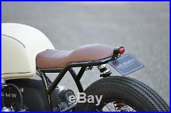 Orig. WalzWerk SCHIZZO Cafe Racer Sitzbank, braun, BMW R65/R80/R100 Monolever