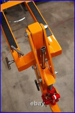 Original Motojackrack MX Dirt Bike Hitch Carrier moto Jack rack Hauler USAOrange