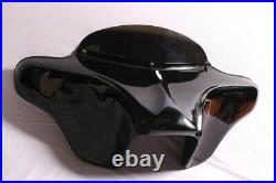 Painted Batwing Fairing Windshield 4 Harley Touring Road King Police Flhp