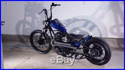 Pandemonium 1.5 Raw Ya Mama XS650 Yamaha Drag Side Pipe Exhaust Chopper Bobber