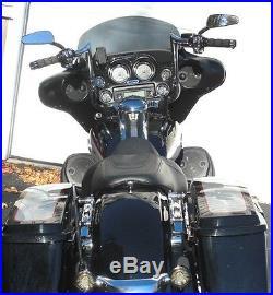 Paul Yaffe Originals Chrome 12 Monkey Bar Apes Handlebars Harley Touring Bagger