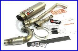 Pitbike scorpion red power race exhaust STAINLESS crf50 crf70, cw z140 m2r wpb