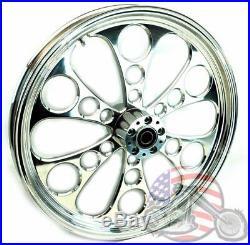 Polished Kool Kat 21 3.5 Billet Front Wheel Rim Harley Touring & Softail 3/4 1