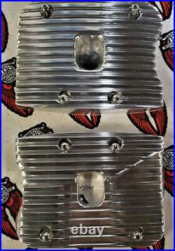 ROCKER BOX COVERS FOR HARLEY EVO 1340cc Polished (Custom Cycle Engineering)