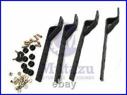RS Hard Saddle bags YAMAHA VSTAR V STAR 650 1100 1300 ROAD MATTE BLACK
