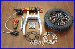 Rear Shock Swingarm 10 Wheel Honda Xr50 Crf50 Xr 50 70 V Re05