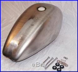 Replica 3.3 Gallon Steel Rolled Edge Fuel Gas Tank 1995-2003 Harley Sportster XL