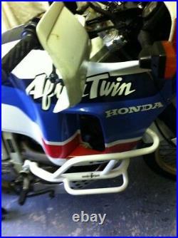 Rugged Roads Honda Africa Twin XRV750 RD03/RD04 White Crashbars 7026