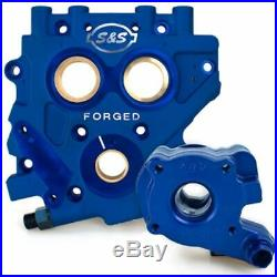 S&S Cycle TC3 Cam Support Plate & Oil Pump Kit Combo 1999-2006 Harley Twin Cam