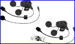 SENA SMH5 Dual Bluetooth Headset/Intercom for Motorcycle Helmets (SMH5D-UNIV)