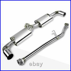 STAINLESS STEEL COMPLETE EXHAUST SYSTEM FROM CAT ALL MODELS for MAZDA RX8