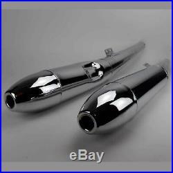 Schalldämpfer Auspuff SET BMW R 50/5 R 60/5 R75/5 Zigarre Exhaust Silencer Cigar