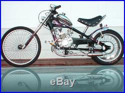 Schwinn Chopper 80cc Gas Motor Kit ENGINE FOR A OCC STINGRAY Black BIKE BICYCLE