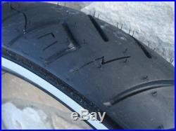 Shinko 120/70-21 F777 White Wall 68v Reinforced Front Tire For Harley Models