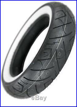 Shinko White Wall Mt90b16 Rear Tire Harley Touring Softail Dyna Indian Sportster