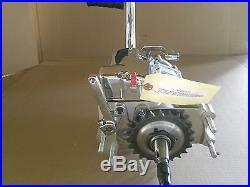 Shovelhead 6 speed in 4 speed trans case with Kick Starter