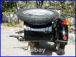 Sidecar Dnepr. Compatible with Motorcycle BMW Kawasaki Harley Davidson Honda etc