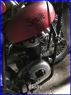 Sprite Vintage Motocross Scrambler Chassis & Engine