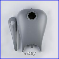 Stretch 6.6 Gallon Gas Fuel Tank For Harley Touring Electra Road Glide 2008-2018