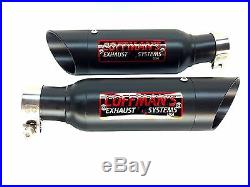 Suzuki Hayabusa GSXR1300 1999-2001 2002-2004 2005-2007 Coffman Shorty Exhausts