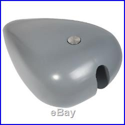 TCMT Stretched 4.7 Gallon Gas Fuel Tank For Harley Custom Chopper Bobber Baggers