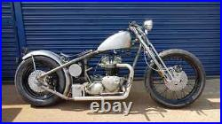 TRIUMPH 650/750 1963 TO 1986 T120/T140 RIGID FRAME (frame only) FENLAND CHOPPERS
