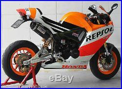 TYGA Honda MSX 125 GROM 2013 -15 MRX Body Kit street in Repsol Paint