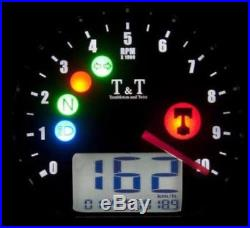 Tacho Digitaltacho Speedometer Speedo Tumbleton & Twist Universal