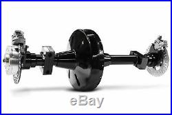 Trike Axle Conversion Kit Rear End Differential Harley Chopper Chain Drive Black
