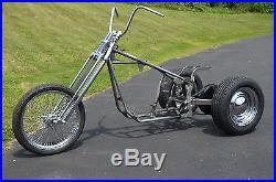 Trike Softail Chopper Frame Axle Swingarm Rolling Chassis