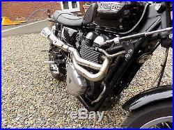 Triumph Scrambler Bonneville T100 Thruxton SE TEC 2-1 High DESERT Full Exhaust