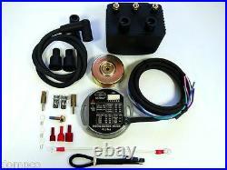 ULTIMA Dyna 2K Single Fire Programmable Ignition Kit'70 & up Harley EVO/Shovel
