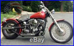 USA Kraft Tech Rigid Hardtail Frame Harley Big Twin Bobber Chopper Custom K16001