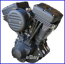 Ultima Blackout 120 Engine Evolution Evo Motor Harley Softail Dyna Touring