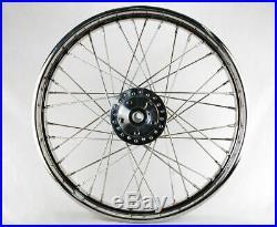 Ultima Chrome 21 X 2.15 40 Spoke Front Wheel 84-99 Harley Sportster Dyna XL FXR