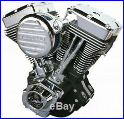 Ultima El Bruto Complete Evolution 140 Black Motor Engine Harley Evo Big Twin