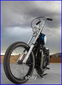 Ultra Narrow Triple Trees 35mm Chopper Harley for FX FXE tubes