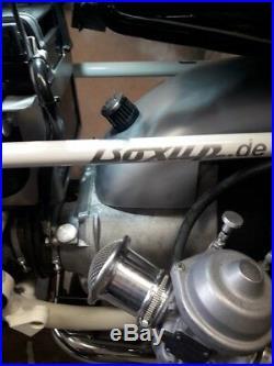 Umrüstsatz auf offen Ansaugtrichter BMW R45-R100 komplett NEU