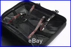 Universal 15L Motorcycle Saddle Case Luggage Tank Box Street Bike Accessories 2x