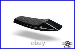 Universal Cafe Racer Seat / Flat Track (SCR4) ABS plastic